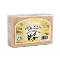 Натурален сапун със зехтин и маслинови листа - Knossos