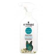 Натурален препарат за стъкла и огледала цитрус Attitude