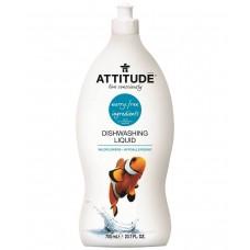 """Натурален препарат за съдове """"Диви цветя"""" Attitude"""