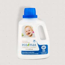 Течен бебешки био перилен препарат без аромат Eco-Max