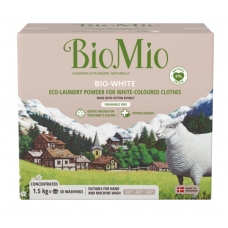 Био перилен препарат БиоМио за бяло пране