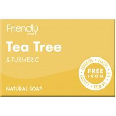 Био сапун с чаено дърво и куркума - Friendly Soap